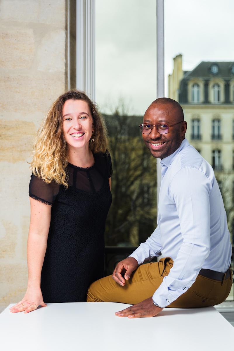 Célia Pizzini et Ludovic ATANGANA - Aventurine RH