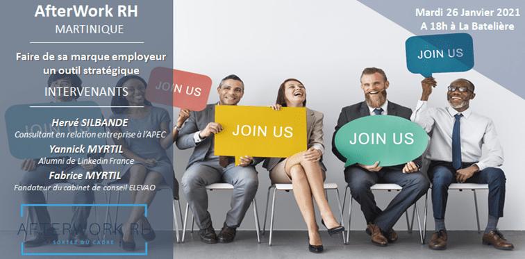 AFTERWORK RH Martinique : faire de sa marque employeur un outil stratégique